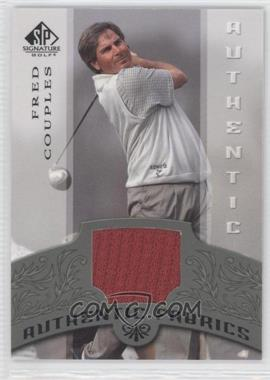 2005 SP Signature [???] #AF-FC - Fred Couples