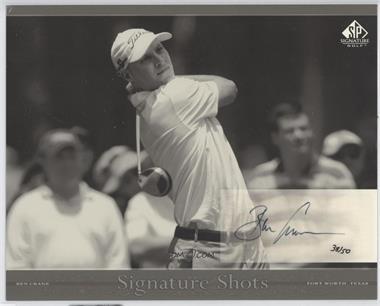 2005 SP Signature Signature Shots Black and White #BW-14 - Ben Crane /50