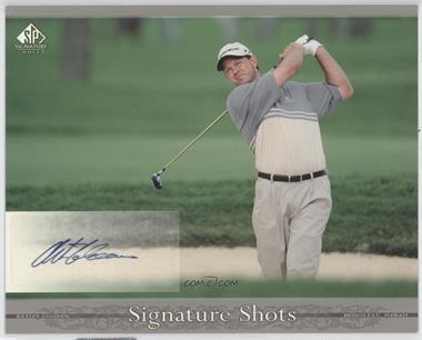 2005 SP Signature Signature Shots #SH-RG - Retief Goosen