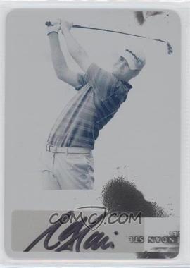 2012 Leaf Metal - Autographs - Printing Plate Cyan #BA-SO1 - Sean O'Hair /1