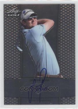 2012 Leaf Metal - Autographs #BA-JR1 - Justin Rose