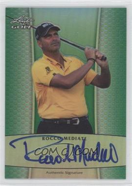 2012 Leaf Metal Autographs Green Prismatic #BA-1 - Rocco Mediate /25