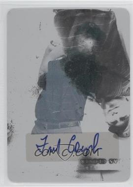 2012 Leaf Metal Autographs Printing Plate Cyan #BA-FC1 - Fred Couples /1
