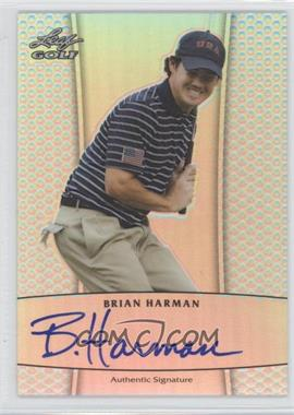 2012 Leaf Metal Autographs Prismatic #BA-2 - Brian Harman /99