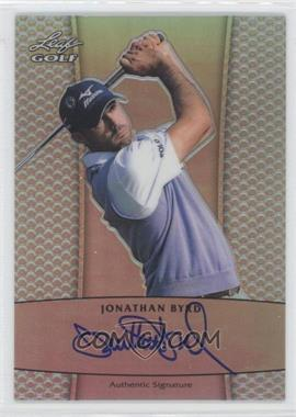 2012 Leaf Metal Autographs Prismatic #BA-JB1 - Jonathan Byrd /50