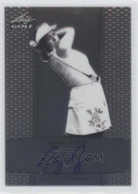 2012 Leaf Metal Autographs #BA-NL1 - Nancy Lopez
