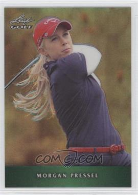 2012 Leaf Metal Green Prismatic #M-MP1 - Morgan Pressel /25