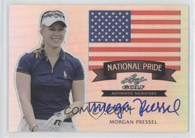 2012 Leaf Metal National Pride Prismatic #NP-1 - Morgan Pressel