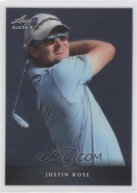 2012 Leaf Metal #M-1 - Justin Rose