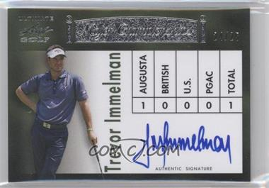 2012 Leaf Ultimate Major Championships Silver #MC-11 - Trevor Immelman /25
