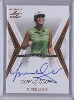 2012 Leaf Ultimate #BA-MW1 - Michelle Wie