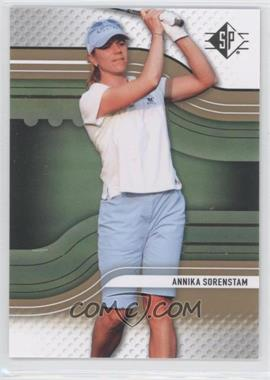 2012 SP Authentic - [Base] - Retail #4 - Annika Sorenstam