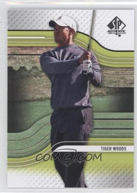 2012 SP Authentic - [Base] #1 - Tiger Woods