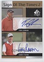 Tom Lehman, Corey Pavin