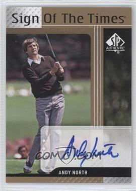 2012 SP Authentic [???] #ST-AN - Andy North