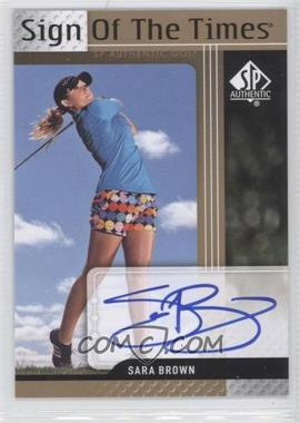 2012 SP Authentic Sign of the Times #ST-SB - [Missing]