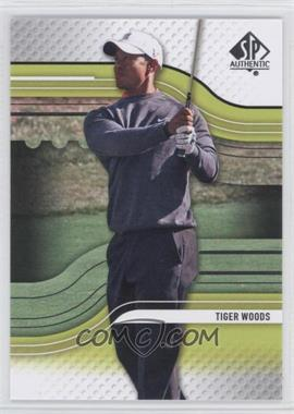 2012 SP Authentic #1 - Tiger Woods