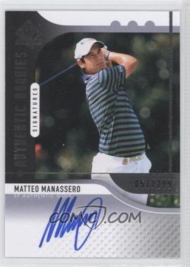 2012 SP Authentic #109 - Matteo Manassero /299