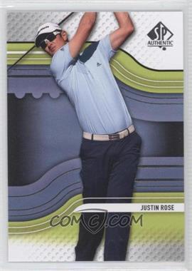 2012 SP Authentic #31 - Justin Rose