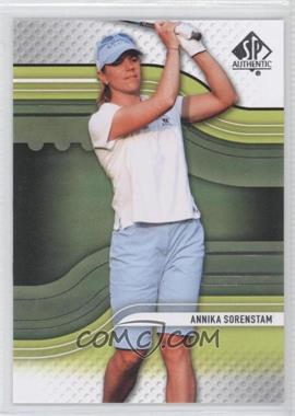 2012 SP Authentic #4 - Annika Sorenstam