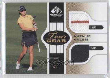 2012 SP Game Used Edition - Tour Gear - Gold Shirts #TG NG - Natalie Gulbis /35