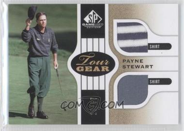 2012 SP Game Used Edition - Tour Gear - Gold Shirts #TG PS - Payne Stewart /35