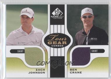 2012 SP Game Used Edition [???] #TG2 JC - Zach Johnson, Ben Crane