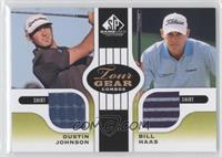 Dustin Johnson, Bill Haas