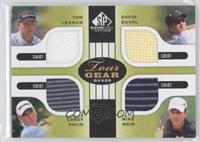 Tom Lehman, David Duval, Corey Pavin, Mike Weir