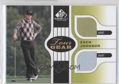 2012 SP Game Used Edition [???] #TGZJ - Zach Johnson