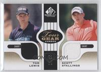 Tom Lewis, Scott Stallings /35