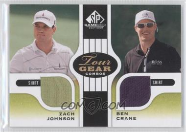 2012 SP Game Used Edition Tour Gear Combos Green Shirts #TG2-JC - Zach Johnson, Ben Crane