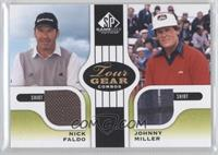 Nick Faldo, Johnny Miller