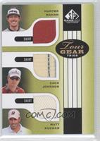 Hunter Mahan, Zach Johnson, Matt Kuchar
