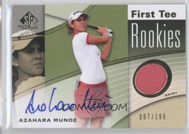 2012 SP Game Used Edition #56 - Azahara Munoz /199