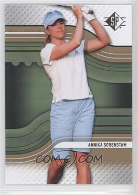 2012 Upper Deck SP [???] #4 - Annika Sorenstam