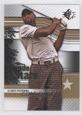 2012 Upper Deck SP [???] #55 - Alonzo Mourning