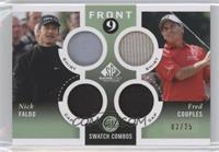 Nick Faldo, Fred Couples /25