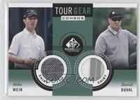 Mike Weir, David Duval