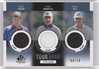 Fred Couples, Ernie Els, Nick Faldo /10