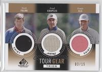 Nick Faldo, Fred Couples, Ernie Els /15