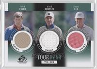 Nick Faldo, Fred Couples, Ernie Els