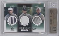 Payne Stewart, David Duval, Fred Couples [BGS 9.5]