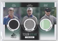 Nick Faldo, Fred Couples, David Duval