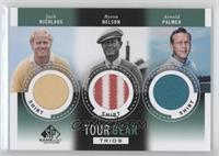Jack Nicklaus, Byron Nelson, Arnold Palmer