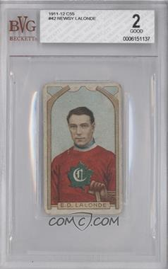 1911-12 Imperial Hockey Players - C55 #42 - Newsy Lalonde [BVG 2]