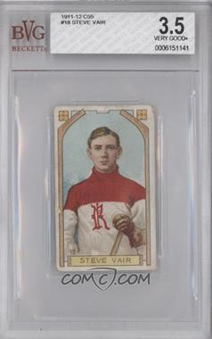 1911-12 Imperial Hockey Players C55 #18 - Steve Vair [BVG3.5]