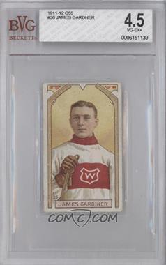 1911-12 Imperial Hockey Players C55 #36 - James Gardiner [BVG4.5]