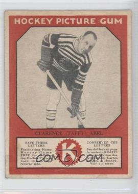 1934-35 Canadian Chewing Gum Hockey Picture Gum V252 #CLAB - Clarence Abel [Good to VG‑EX]