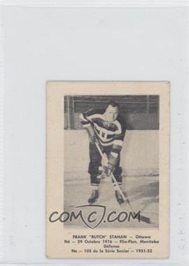 "1951-52 Laval Dairy QSHL #105 - Frank ""Butch"" Stahan"